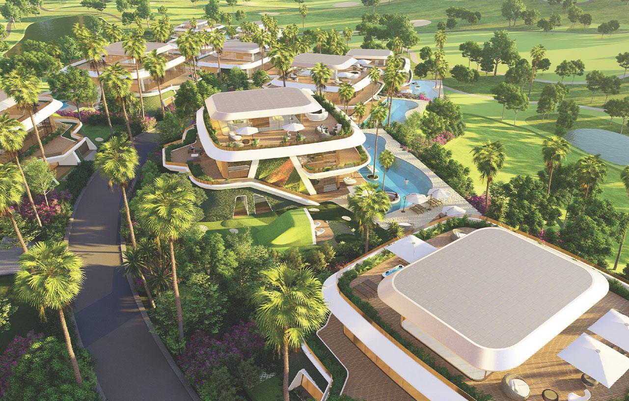 biệt thự golf villas dự án sunshine heritage mũi né
