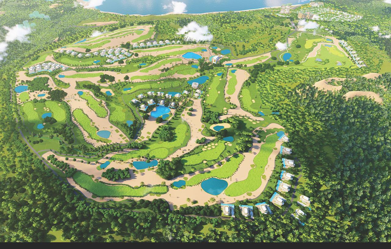 phân khu golf villas dự án sunshine heritage mũi né