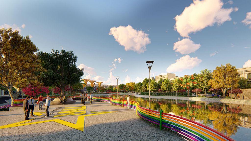 tiện ích dự án thanh hà new city hải dương