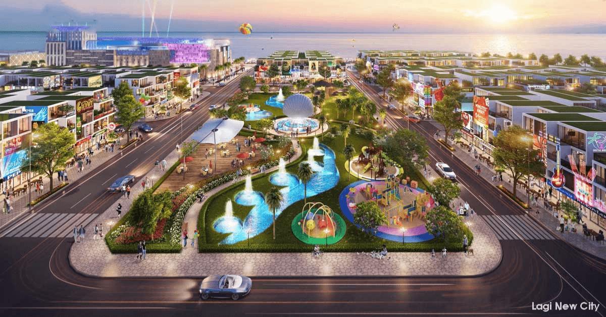 tiện ích dự án lagi new city bình thuận