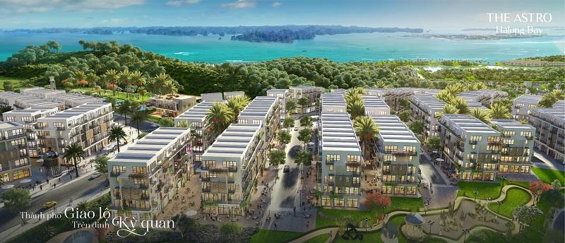 tiểu khu Lepus Central dự án The Astro Hạ Long Bay