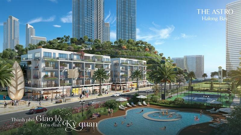 khu Orion Avenue dự án The Astro Hạ Long Bay