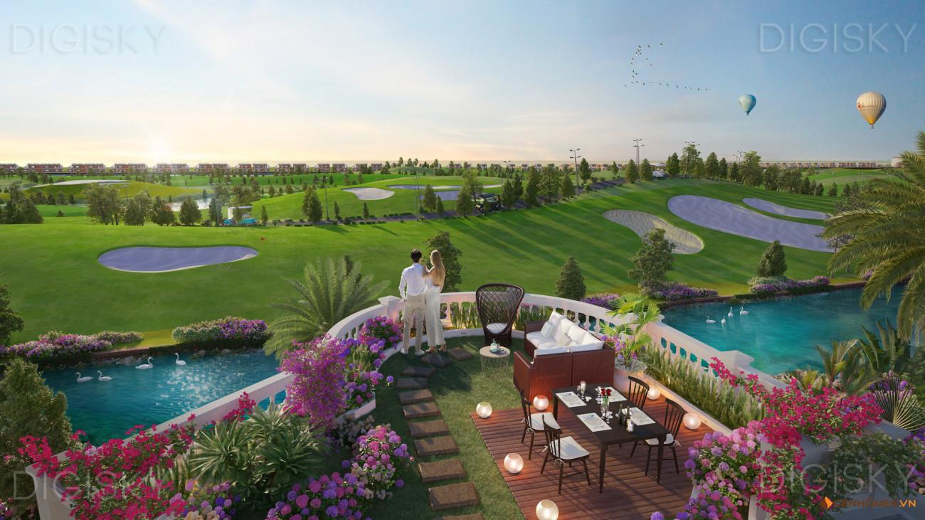 biệt thự hoa tiên golf villas 2 tầng