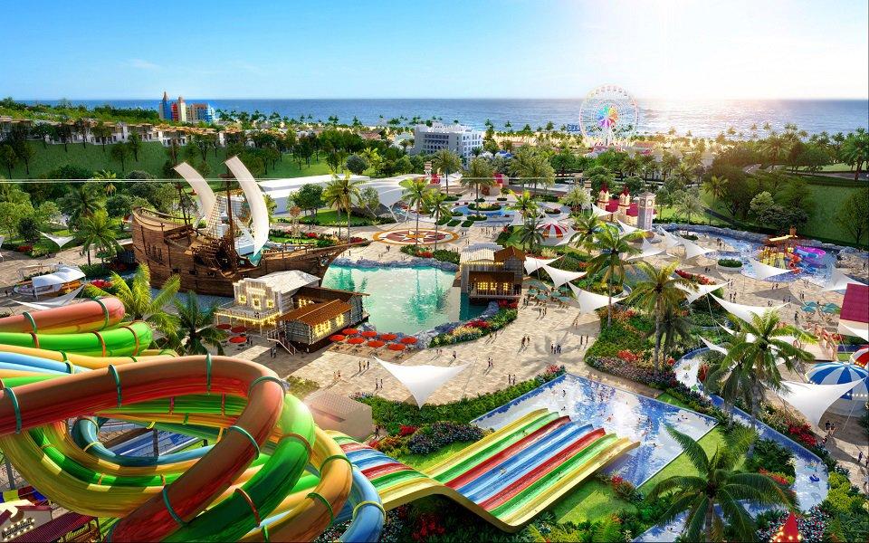 công viên biển dragon ocean đồ sơn