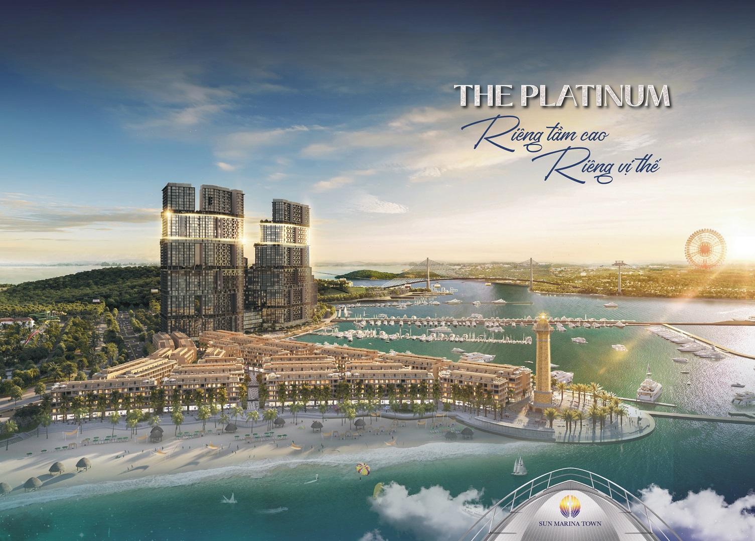 dự án căn hộ the platinum sun marina town hạ long