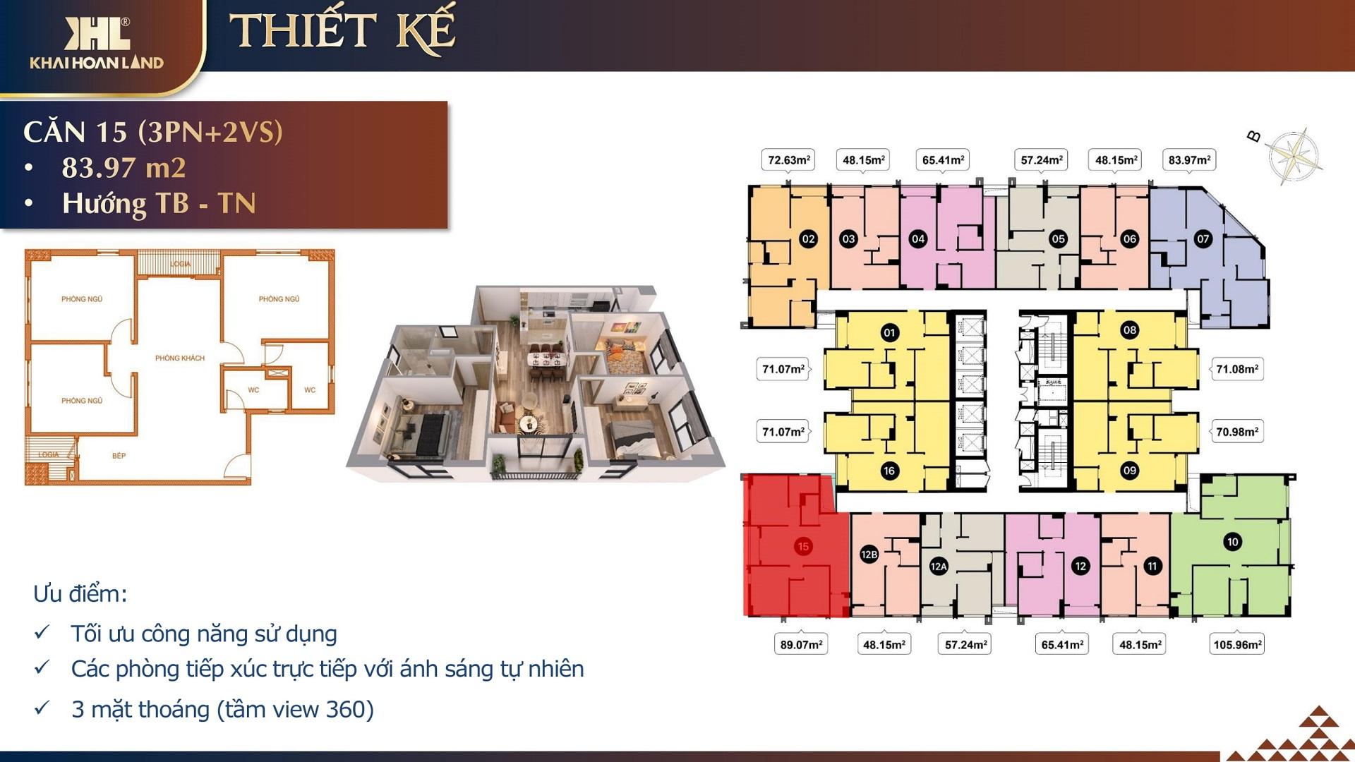 thiết kế căn hộ t&t dc complex