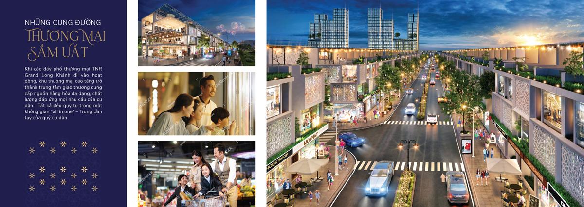 shophouse dự án tnr grand long khánh đồng nai