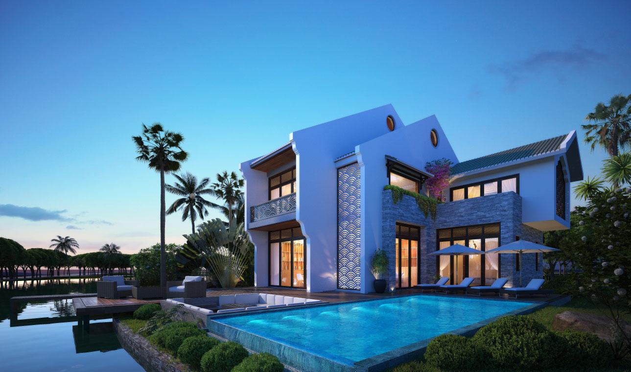 villa dự án hoi an d'or quảng nam