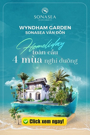 banner wyndham garden sonasea vân đồn