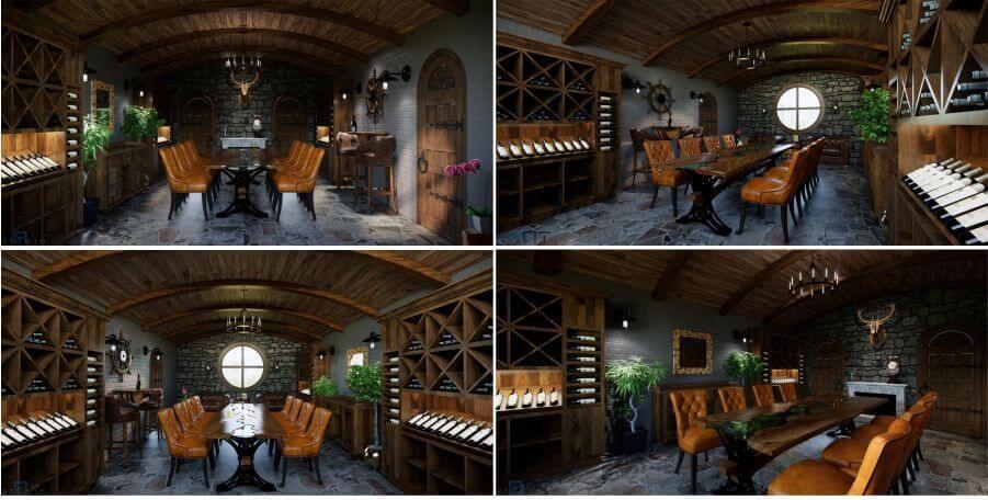 hầm rượu dự án pù luông bocbandi retreat bá thước thanh hóa