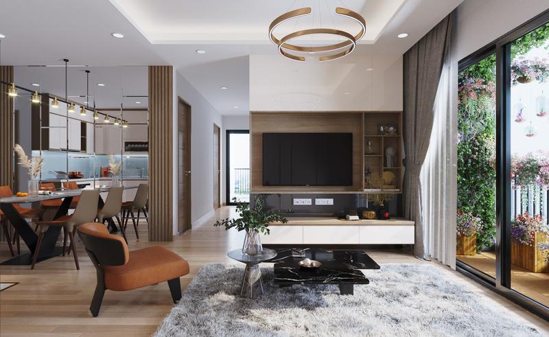 nội thất căn hộ phương đông green home việt hưng