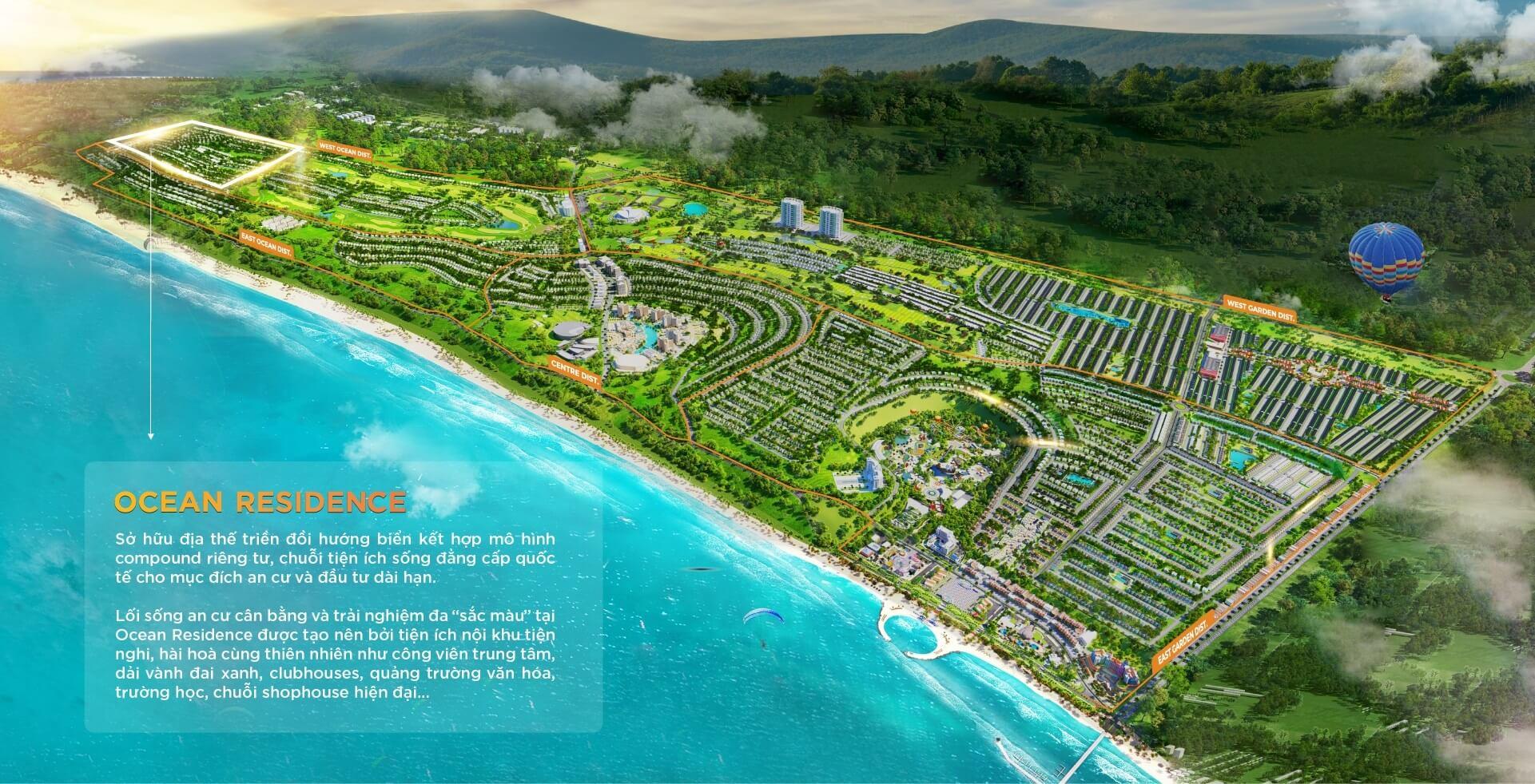 phối cảnh dự án ocean residence novaworld phan thiết