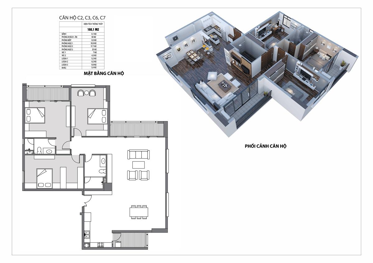 thiết kế căn hộ udic westlake tây hồ