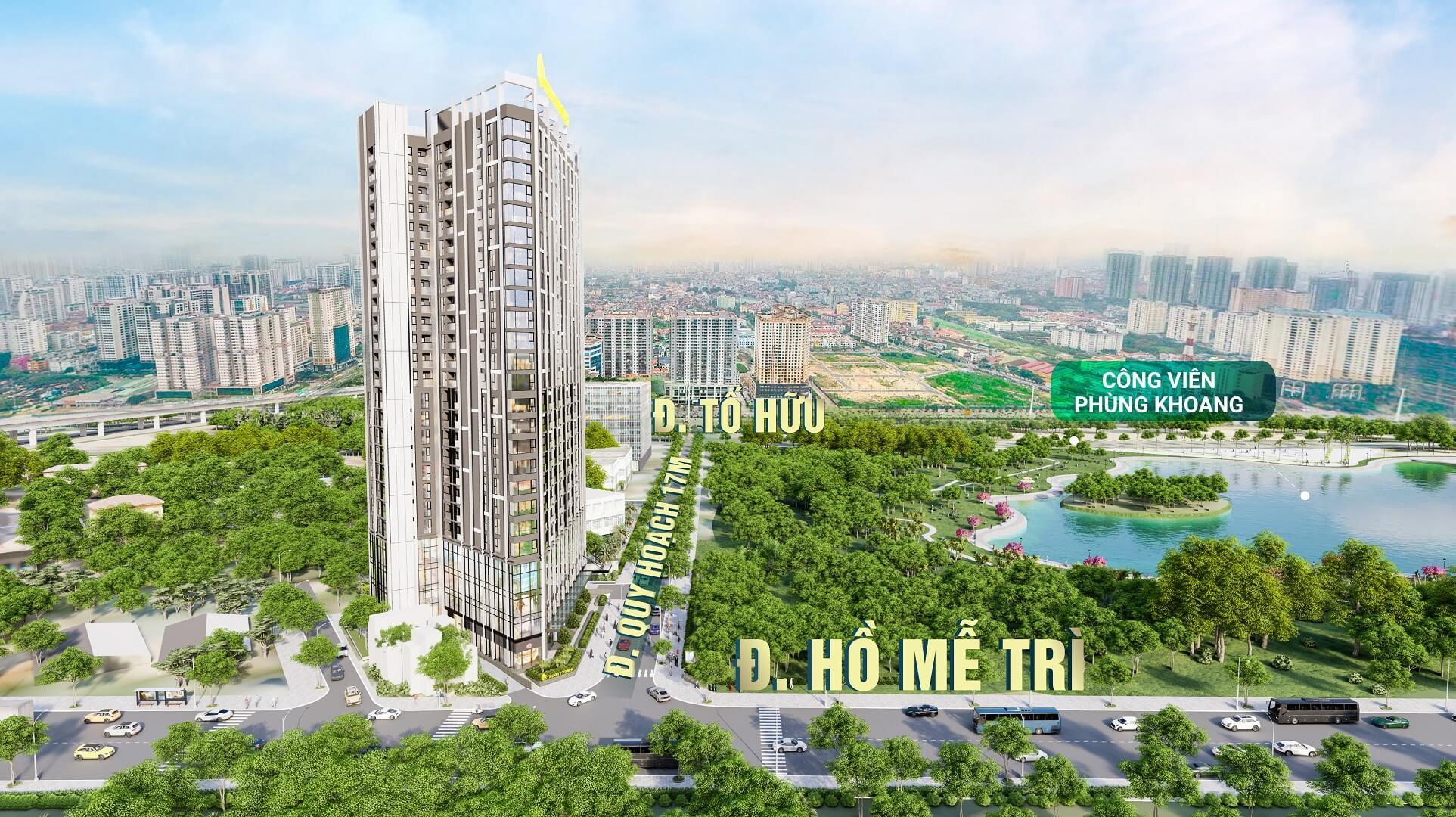 dự án chung cư trinity tower 145 hồ mễ trì